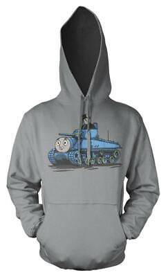 Thomas The Tank Engine Fat Controller Tank Mash up Kids Hoodie 3