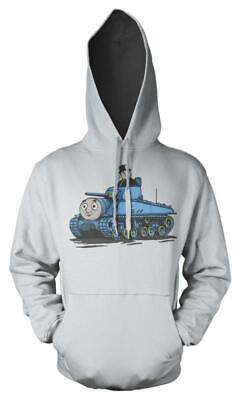 Thomas The Tank Engine Fat Controller Tank Mash up Kids Hoodie 12