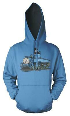 Thomas The Tank Engine Fat Controller Tank Mash up Kids Hoodie 11