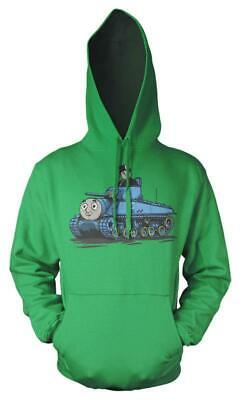 Thomas The Tank Engine Fat Controller Tank Mash up Kids Hoodie 9