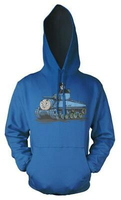 Thomas The Tank Engine Fat Controller Tank Mash up Kids Hoodie 4