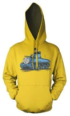 Thomas The Tank Engine Fat Controller Tank Mash up Kids Hoodie 10