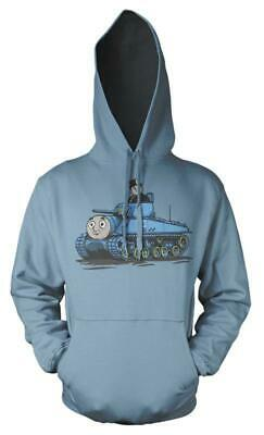 Thomas The Tank Engine Fat Controller Tank Mash up Kids Hoodie 8