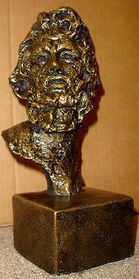 Zeus God Olympus Greek Roman Jupiter Mask Bust 17024 4