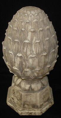 "Artichoke Finial 13"" Antique Decorative Statue Home and Garden Accent 36003 5"
