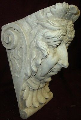 Old Lady Wall Corbel Bracket Shelf Architectural Accent Home Decor 4