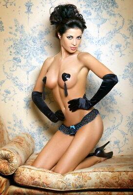 Pezoneras Cubre Pezones Adhesivos Con Colgantes Lencería Sexy Gogo Bailarina 2