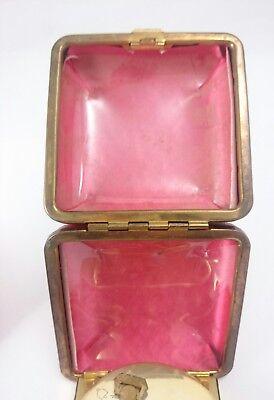 Vintage SETH THOMAS PHINNEY WALKER Light Alarm Portable Clasp Pocket Clock Pair 9