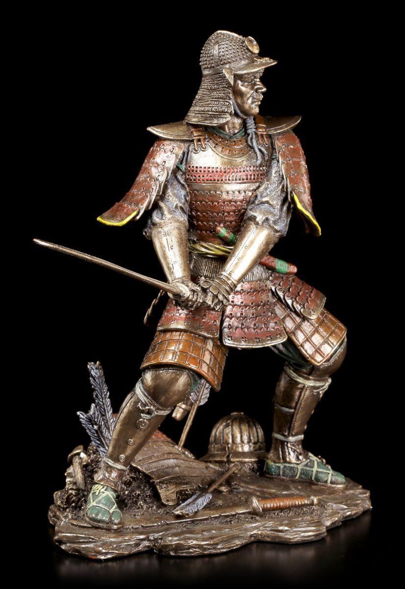 Samurai GUERRIER Figure avec /ép/ée VERONESE bronze-optique d/éco