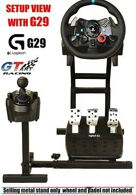 MINI GT ART Racing Simulator Steering Wheel Stand for  G29  G920 T300RS T150 PRO