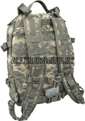 Us Military Army Acu Ucp Molle Ii Patrol Assault Pack 3-Day Mission Backpack Gc 2