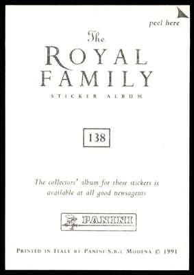Fergie No.73 Panini The Royal Family 1991