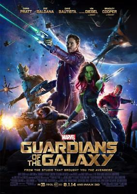 Guardians Of The Galaxy Movie Poster A5 A4 A3 A2 A1 2