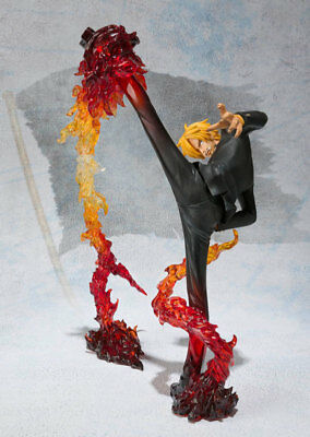 One Piece Vinsmoke Sanji Battle stance PVC Anime Figure Collection Toy In Box
