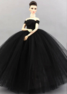"""Doll Dress Costume Elegant Lady Wedding Dress For 11.5"""" Doll Clothes Outfits Toy 12"""
