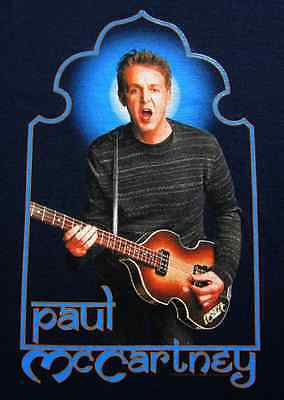 2 Of 5 PAUL McCARTNEY Na 2002 Tour XL Concert T SHIRT Beatles