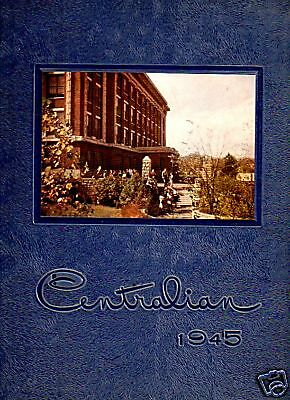 1945 Kansas City MO Central High School Yearbook~Photos~History~Football~WWII 5