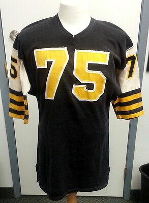 ... Hamilton Tiger Cats - Tommy Joe Coffey GAME WORN JERSEY 1967 Vtg  Football CFL 3 eaa93ddd3
