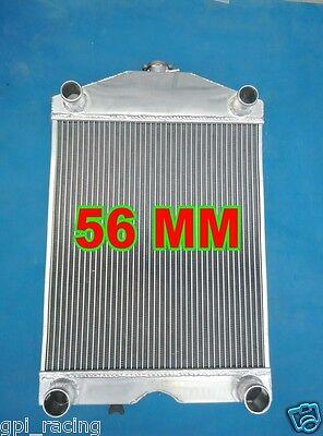 """2x1"""" up to 700HP Ford 2N/8N/9N tractor w/flathead V8 engine aluminum radiator"""