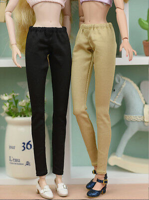 Toy Doll Clothes Elastic Trousers Long Pants For 11.5inch Doll Shorts For Blythe 6