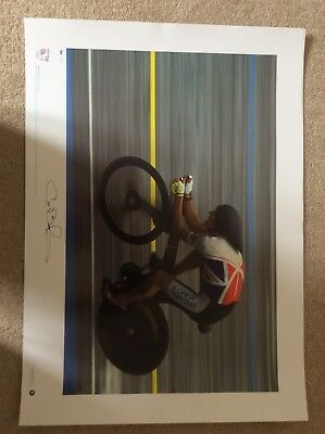 signed Team GB Olympic Gold Prints - complete set of 7 6