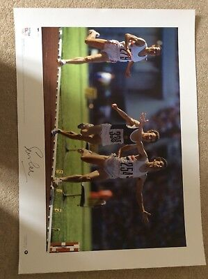 signed Team GB Olympic Gold Prints - complete set of 7 8