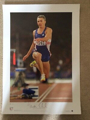 signed Team GB Olympic Gold Prints - complete set of 7 4