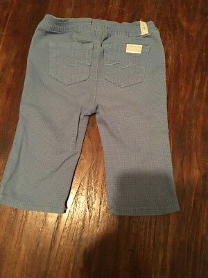 Boys Age 6-9 Months 7 For All Man Kind Trousers Excellent Condition 7