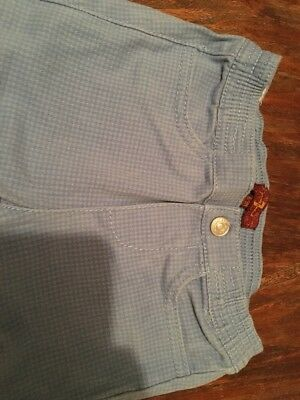 Boys Age 6-9 Months 7 For All Man Kind Trousers Excellent Condition 3