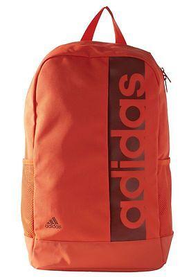 dbabde86ba2d1 ... Adidas Linear Performance Backpack Sports School Bag Rucksack Training  Travel 6
