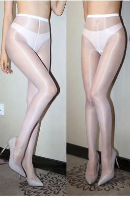 8399f38947270 ... Ladies 1 Denier High Gloss Shiny Pantyhose Glossy Tights Nylon  Stockings Hosiery 10