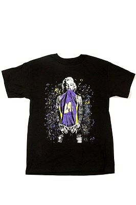 competitive price 1580a e5500 MARILYN MONROE KOBE Bryant Los Angeles LA Lakers Men's Black T-Shirt Tee  S-2XL