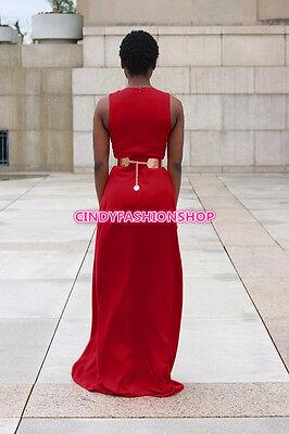 c1392ca9b5f 1 of 5 USA Fashion Elegant Women Sleeveless Loose Novelty Plus Size Jumpsuit    Rompers