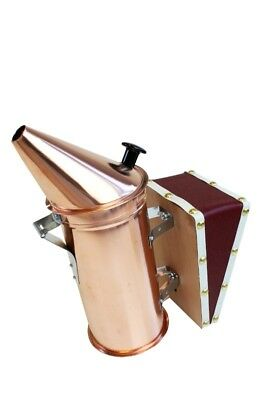 Traditional British Copper Beekeeping Smoker & 1kg of Fuel, Hand Made in UK