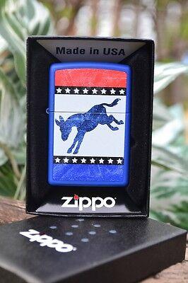 Zippo Lighter - Democratic Donkey - Democrat Party - Republican - Model: 29166