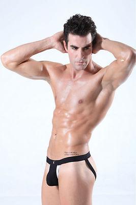 Slip Jockstrap Sexy Homme Fesses Nues Underwear Thong Man Men Uomo 2