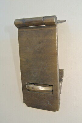 "box catch hasp latch vintage style house DOOR aged heavy rectangle 4.1/4"" B 3"