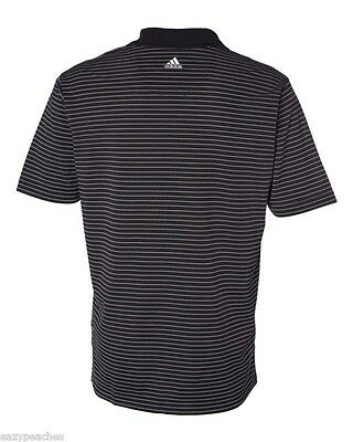 ADIDAS GOLF - Men's ClimaLite Tech, Cool Pencil Stripe Polo Sport Shirt, A60 A16 12