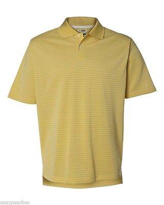 ADIDAS GOLF - Men's ClimaLite Tech, Cool Pencil Stripe Polo Sport Shirt, A60 A16 6
