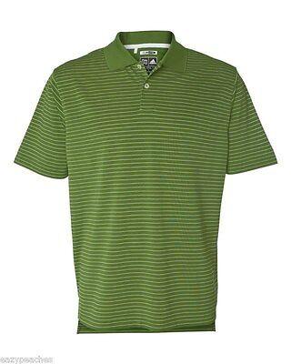 ADIDAS GOLF - Men's ClimaLite Tech, Cool Pencil Stripe Polo Sport Shirt, A60 A16 5