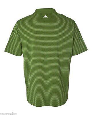 ADIDAS GOLF - Men's ClimaLite Tech, Cool Pencil Stripe Polo Sport Shirt, A60 A16 10