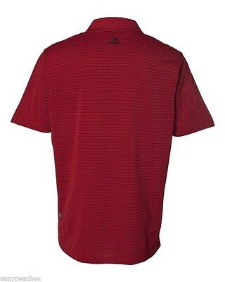ADIDAS GOLF - Men's ClimaLite Tech, Cool Pencil Stripe Polo Sport Shirt, A60 A16 8