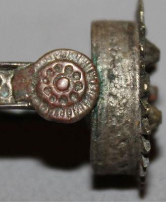 Antique Greek Folk Hand Made Medieval Bronze Ring 12