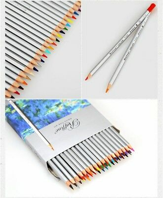 24/36/48/72Pcs Soft Core Art Colored Pencils Wooden Wax Based Drawing Supply 2B 6