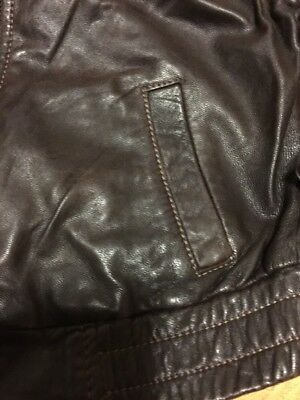 Gap Girls Real Leather Jacket Aged 4-7 Years Old 5