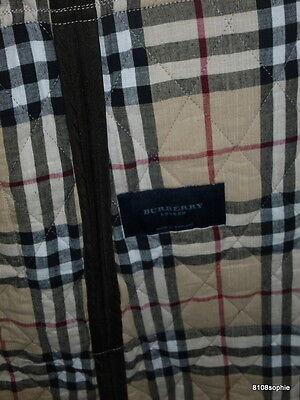 3 sur 11 BURBERRY Manteau matelassé marron intérieur tartan 44 XL quilted  coat 5e695f77ea8b