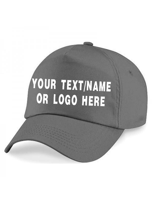 Personalised baseball caps Customised Adults unisex Printed Caps Hats Text/Logo 3