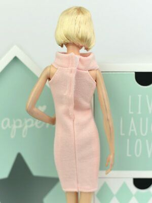 Fashion One Piece Dress For 1/6 Doll Evening Dresses Doll Clothes For 1/6 Doll 4
