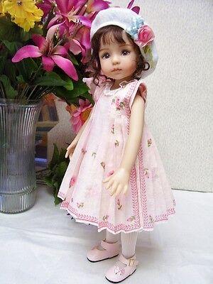 """Hanky Dress, Hat  PATTERN for 10"""" to 16"""" Dolls  Little Darling,  Bleuette, 5"""