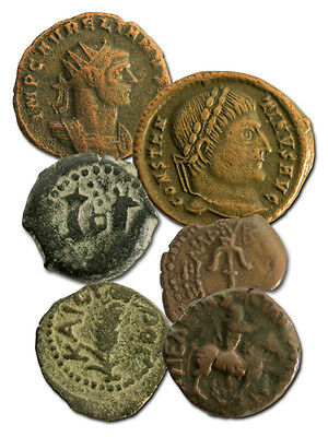 1st  Days of Christmas: Box of 6 Ancient Coins That Celebrate the Birth of Jesus